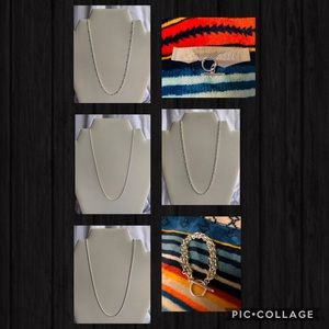 Silver 925 Bracelets & Necklaces